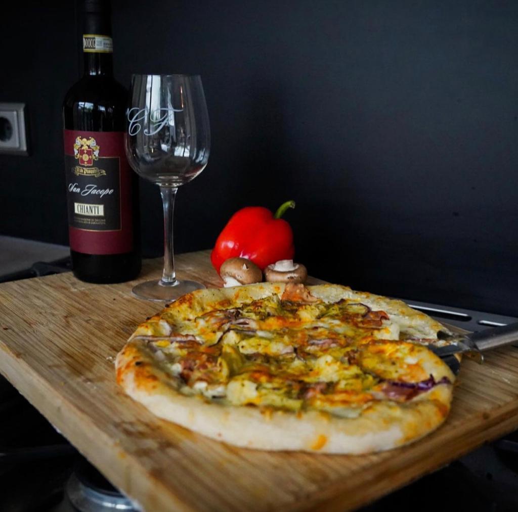 Winnende pizza